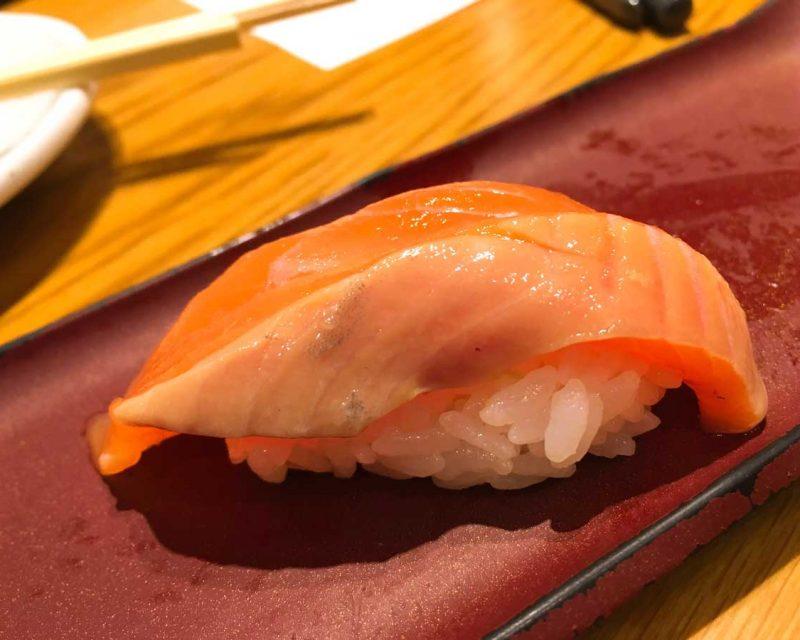 はなまる寿司のトキシラズ