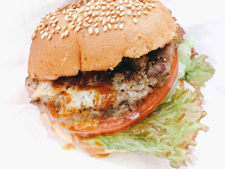 ハングリーベアーのハンバーガー